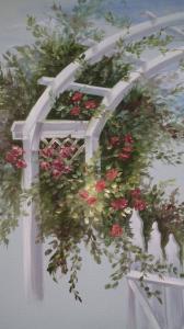 Door with Roses
