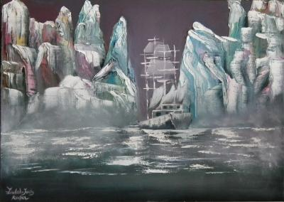 Ghost Ship in Ice